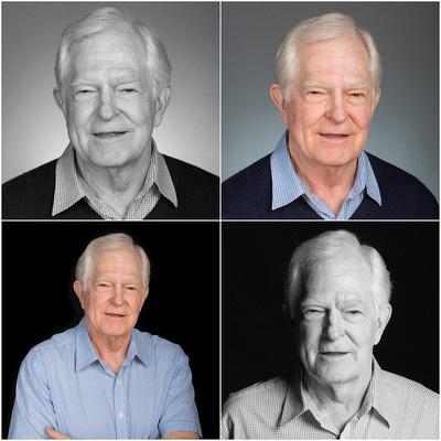 Modeling portrait elder man