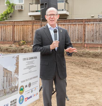 Ken Roserberg Mayor of Mountain View