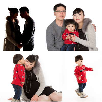family_of_three_portrait_studio