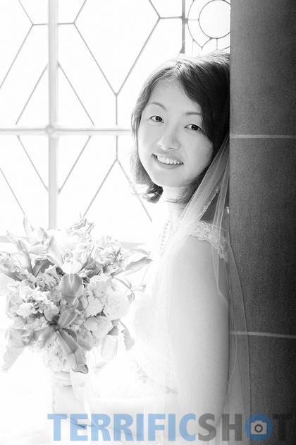 wedding_bride__by_window_san_francisco_city_hall_black_white